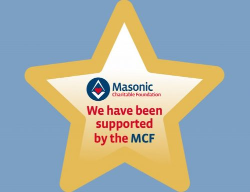The Masonic Charity gives a grant to Womankind!