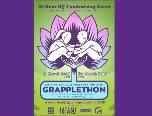 GrappleThon 2019 – fund raising for Womankind!