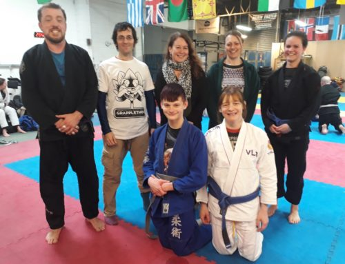 GrappleThon raises over £4k for Womankind!