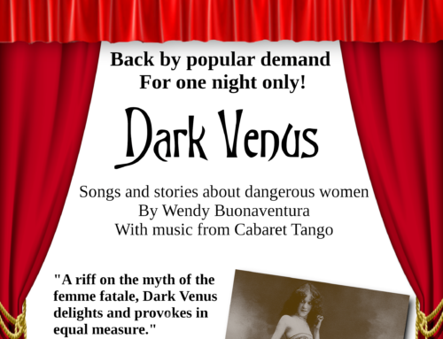 'Dark Venus' show raised money for Womankind!