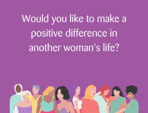 Womankind is recruiting for Befriending Volunteers!