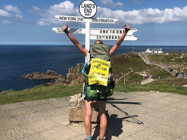 Martha has completed her 1,200 mile walk for Womankind!