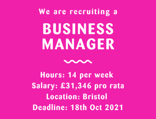 We are recruiting for a Business Manager