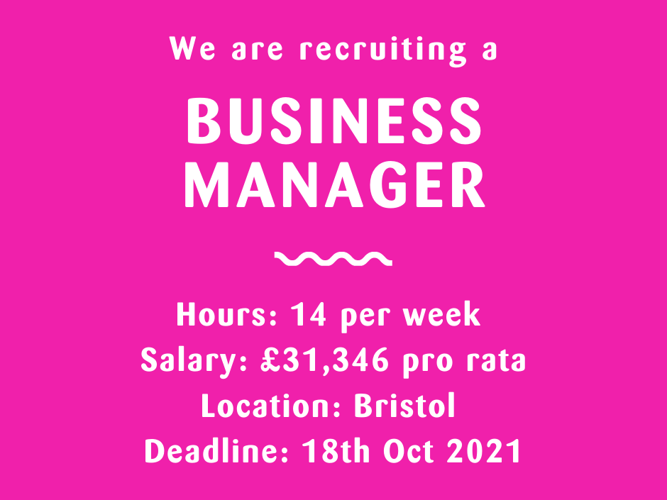 Business Manager vacancy